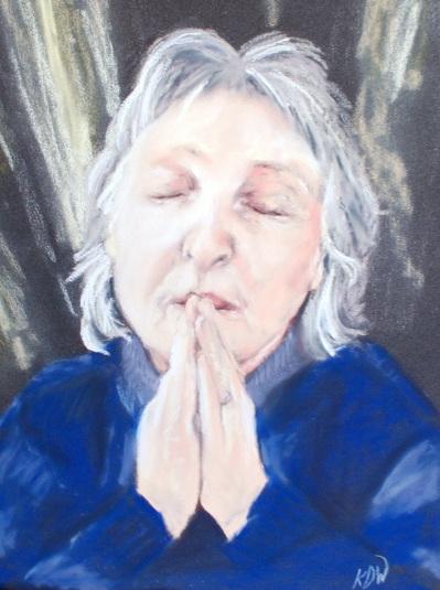 Val Praying KDW